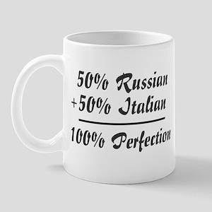 Half Italian, Half Russian Mug
