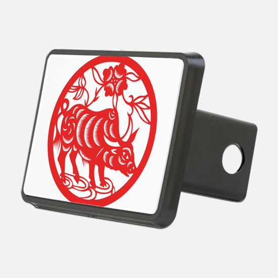 Zodiac, Year of the Ox Hitch Cover