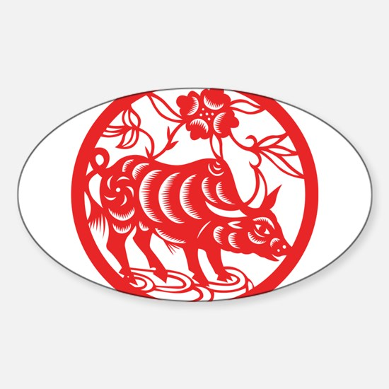Zodiac, Year of the Ox Decal
