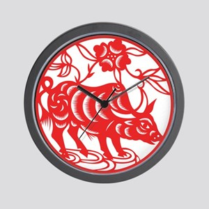 Zodiac, Year of the Ox Wall Clock