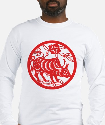 Zodiac, Year of the Ox Long Sleeve T-Shirt