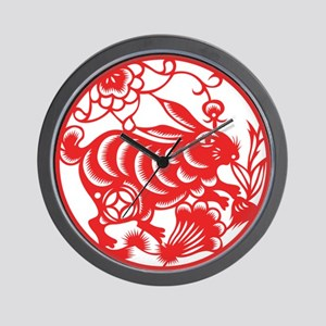 Zodiac, Year of the Rabbit Wall Clock