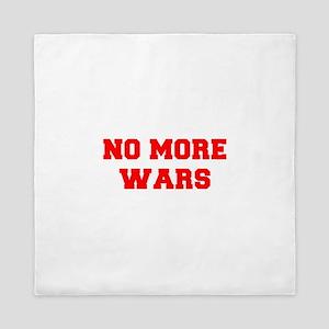 NO-MORE-WARS-FRESH-RED Queen Duvet