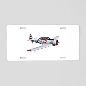 T-6 Texan Trainer Aluminum License Plate