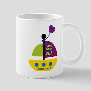 Custom 5th Birthday Mug