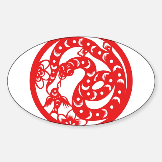 Zodiac, Year of the Snake Decal