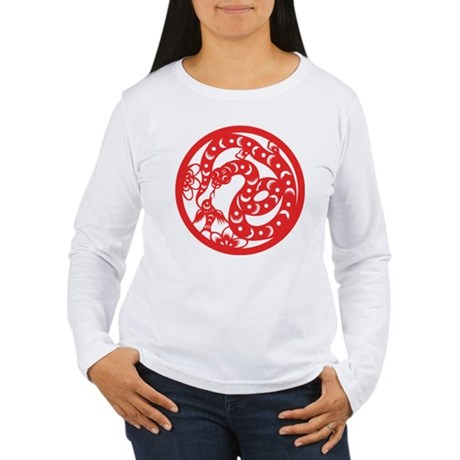 Zodiac, Year of the Snake Long Sleeve T-Shirt