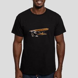 P-6 Hawk Biplane Aircraft Men's Fitted T-Shirt (da