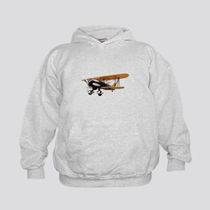 P-6 Hawk Biplane Aircraft Kids Hoodie
