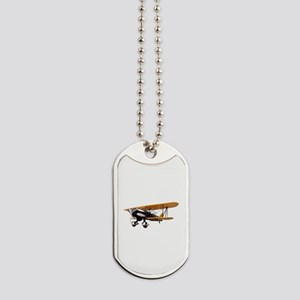 P-6 Hawk Biplane Aircraft Dog Tags