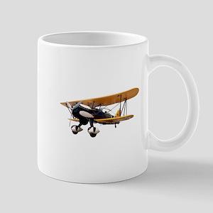 P-6 Hawk Biplane Aircraft Mug