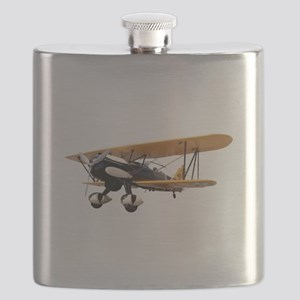 P-6 Hawk Biplane Aircraft Flask