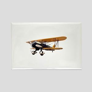P-6 Hawk Biplane Aircraft Rectangle Magnet