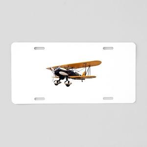 P-6 Hawk Biplane Aircraft Aluminum License Plate