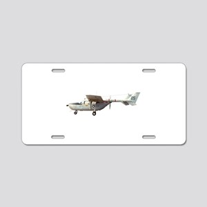 Observation Aircraft Aluminum License Plate