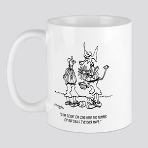 Space Alien Referee Mug
