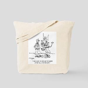 Space Alien Referee Tote Bag