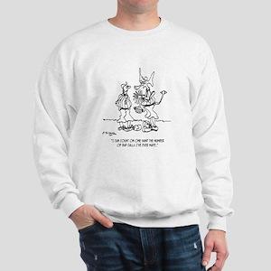Space Alien Referee Sweatshirt