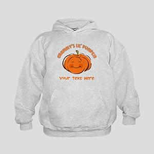 Grammy's Little Pumpkin Personalized Kids Hoodie