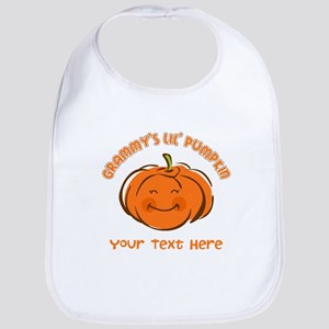 Grammy's Little Pumpkin Personalized Bib