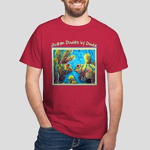 Mandarinfish<br>Dark T-Shirt, BLK, RED, GRN, BLUE