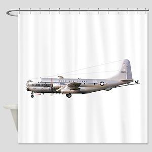 KC-97 Stratotanker Shower Curtain