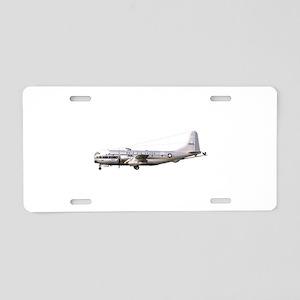 KC-97 Stratotanker Aluminum License Plate