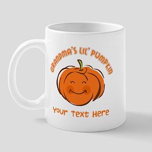 Grandma's Little Pumpkin Personalized Mug