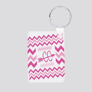 PINKs Cross Country ZigZags Keychains