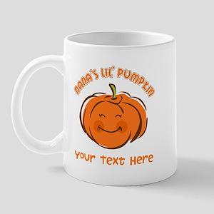Nana's Little Pumpkin Personalized Mug