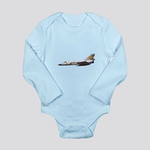 F-106 Delta Dagger Fighter Long Sleeve Infant Body