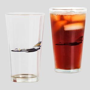 F-106 Delta Dagger Fighter Drinking Glass