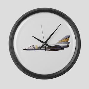 F-106 Delta Dagger Fighter Large Wall Clock