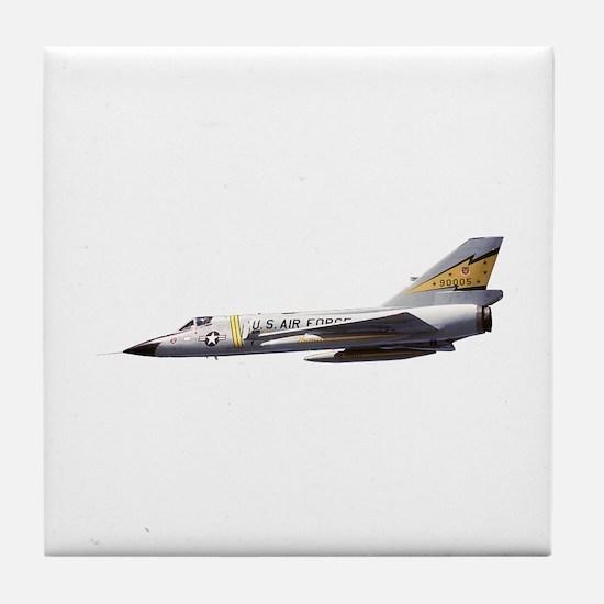 F-106 Delta Dagger Fighter Tile Coaster