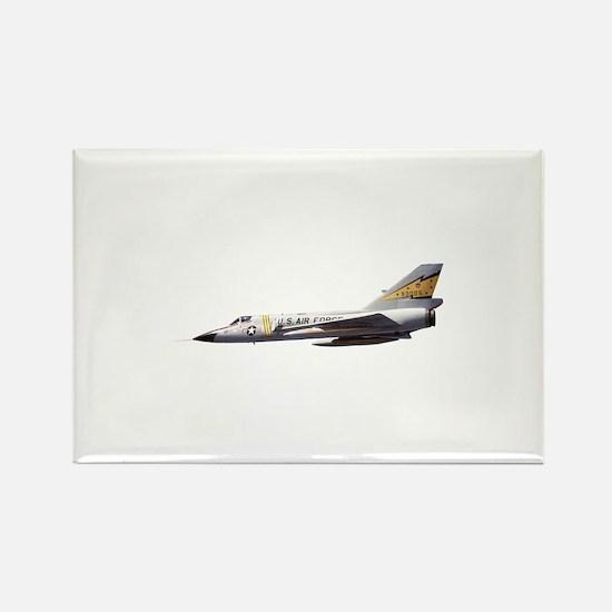 F-106 Delta Dagger Fighter Rectangle Magnet