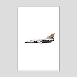F-106 Delta Dagger Fighter Mini Poster Print