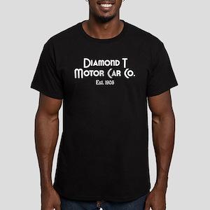 Diamond T Men's Fitted T-Shirt (dark)