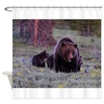 GRIZZLY BEAR 399 Shower Curtain