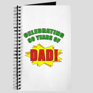 Celebrating Dad's 90th Birthday Journal
