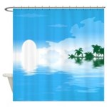 Blue Ocean Shower Curtain