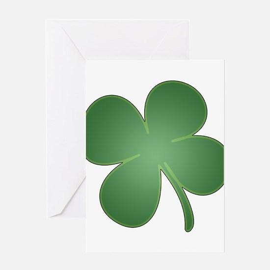 St Patricks Day, Clover, Shamrock Greeting Cards