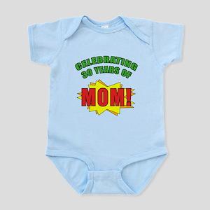 Celebrating Mom's 30th Birthday Infant Bodysuit