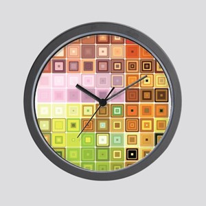 Art, Colorful, Vintage Wall Clock