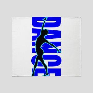 Dance, Dancing, Dancer Throw Blanket