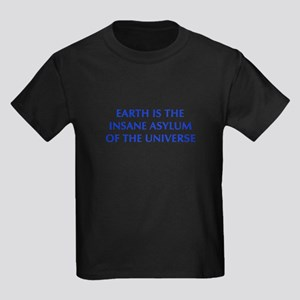 earth-is-insane-OPT-BLUE T-Shirt
