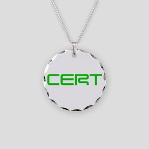 CERT-SAVED-GREEN Necklace