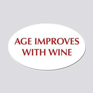 AGE-IMPROVES-OPT-DARK-RED Wall Decal
