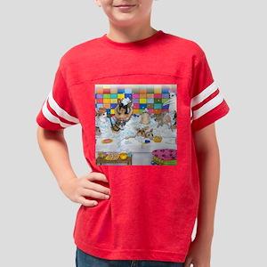 Dog 121 Youth Football Shirt