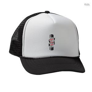 Motivational Fitness Kids Trucker Hats - CafePress 3c64dec0fad