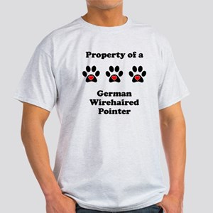 Property Of A German Wirehaired Pointer T-Shirt